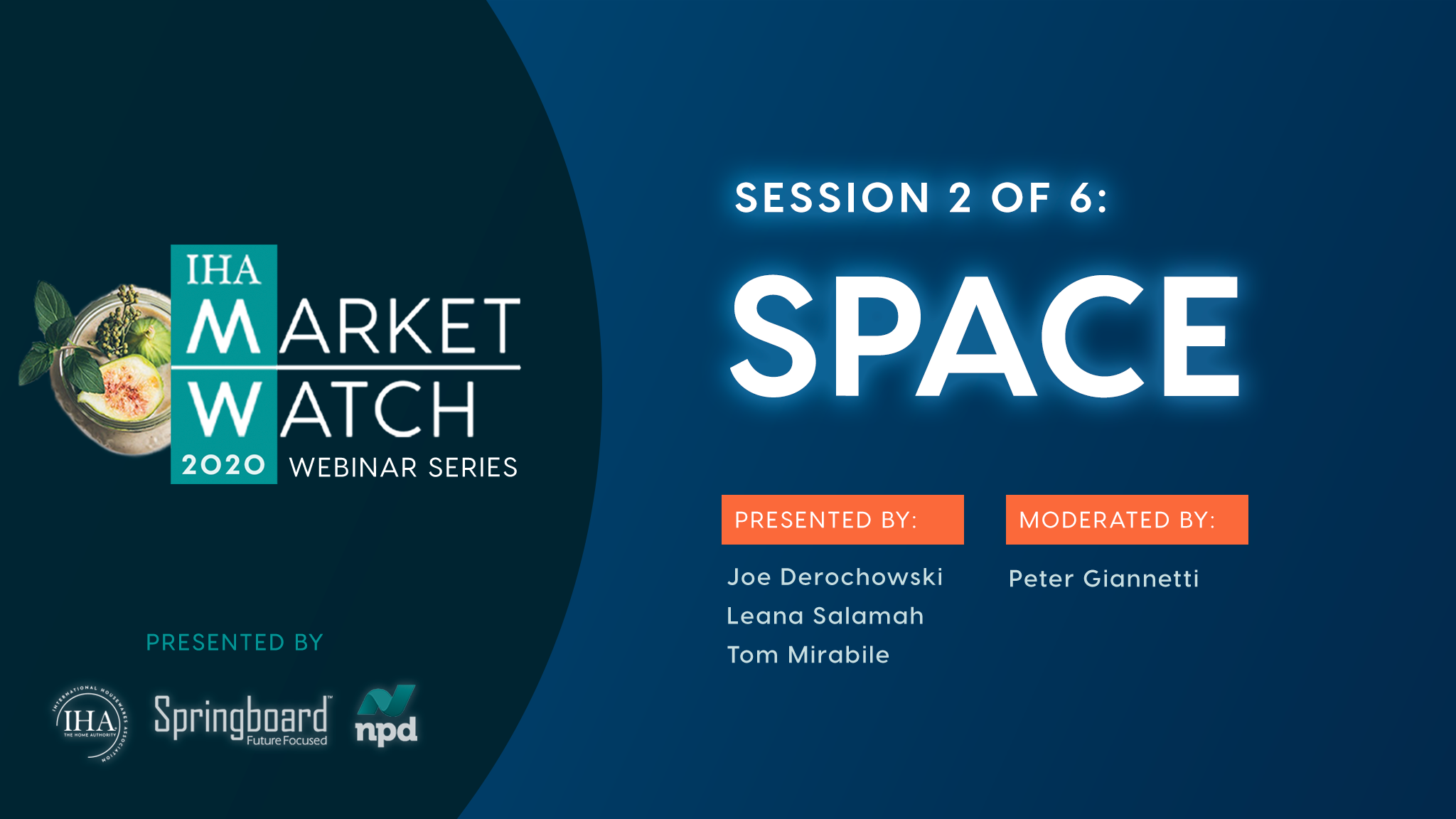 IHA Market Watch - Session 2 - Space