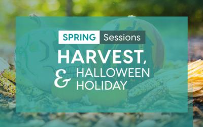 Session: Harvest, Halloween & Holiday 2021-22