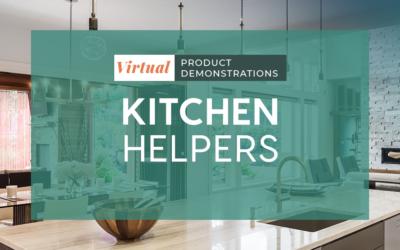Virtual Demos: Kitchen Helpers